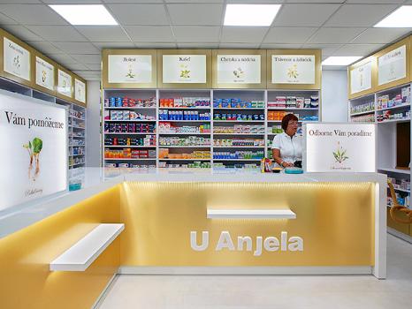 Nový interiér lekárne U Anjela