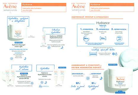 Akcie, Avène, Hydrance