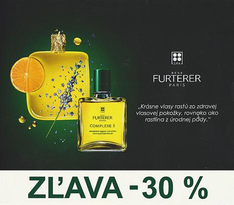 Akcia, René Furterer, Zľava 30 %