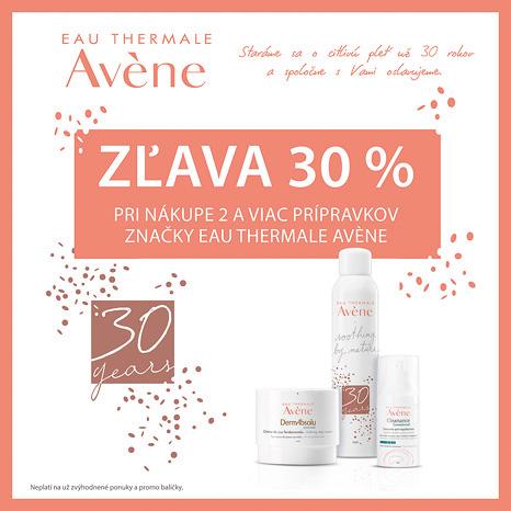 Akcia, Avène, zľava 30 %