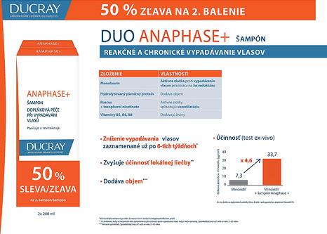 Akcie, Ducray, 50% na 2 balenie